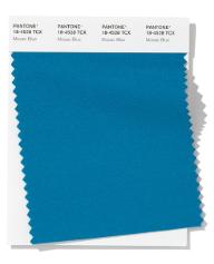 Trendkleuren lente/zomer 2020: Mosaic Blue